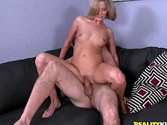 pretty blonde likes it deep