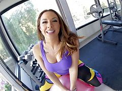 Hot Chanel Preston poses really dirty