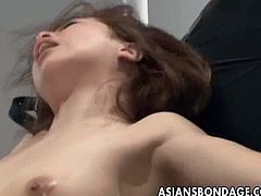 Bondage girl whipped tortured submission humiliation,Asian slut being tortured,Spanked and humiliated submissive slave,If you like Japanese bondage videos, you will love this video. This hot Asian babe get tied and attached upside down.She gets her pussy filled with some strange liquid,eventually she gets attached and fucked by strange toys!