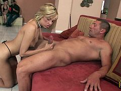 Smoking hot and desirable babes are being pleased in this scene. What they do is just amazing and so fucking hot! Nice group sex to watch!