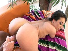 Wild mexican brunette wants to fuck hard