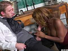 Dirty secretary enjoys fucking her twat at work along naughty boss