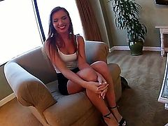 Kevin Moore invited prostitute Maddy OReilly to his apartments wishing to have soe nice hardcore. The beauty for cash comes to him and now you could see them relaxing together.
