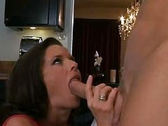 VeroNica Avluv Doing A hooter make love in this male kitchen