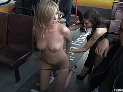 This divine and sizzling blondie is a public sex lover. Nothing makes her feel more hyper that getting balled in public. Honey is so fucking crazy!