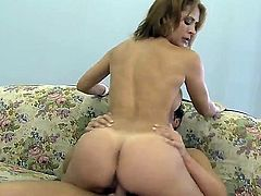 Curvy milf with amazingly hot fucking techniques named Monique Fuentes enjoys feeling how Rocco Reeds dick becomes hard in her mouth and gets fucked from behind.