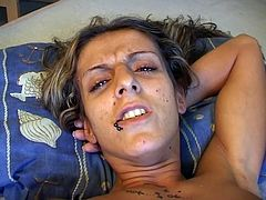 Teen pussy casting as a hottie has her haven played with by an older witch that treats it with disdain.