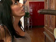 Alia Janine will have a lot of dark meat for her mouth today. Sean Michaels will see to it. He is obliged to give her as many fucks as this crazy vixen would require.