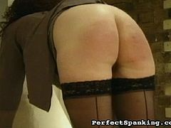 Misbehaving submissive sluts are in for a hell of a punishment! OTK, Paddling, and Caning! Beautiful round bottoms throbbing in ecstatic pain!l