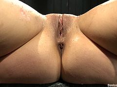Horny Remy LaCroix gets bonded and whipped with a stick. After that she gets her tight and wet pussy toyed.