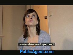 Check out super euro chick marketa seduced by the public agent! He will give her some money and will fuck her in the doggy style!