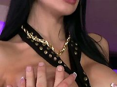 Aleska Diamond and Aletta Ocean are shared among clients