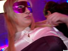 Tainster sex clip provides you with really voracious nymphos, who thirst for delight and orgasm tonight. That's the reason ordinary party turns into hot group sex. Busty black and blond haired lesbos go nuts, pull up dresses and gonna pleased each other's juicy cunts at once.