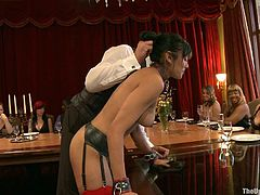 If you like bondage scenes, this is the right video for you to watch! Watch these ladies having fun being tortured and pleased.