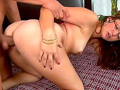 Watch as young Allie, a supremely hot barely-legal gal, has her pussy fingered, ate, and fucked by a dashing young lad. And why not A girl of her caliber deserves a real man.