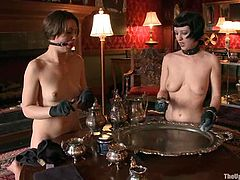 Two juicy and delightful sirens Cherry Torn and Sarah Shevon are being guests to Maestro. His house is gorgeous, but the walls of the house had witnessed a lot of dirty things!