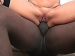 Gorgeous hot milf fucked by black pipe
