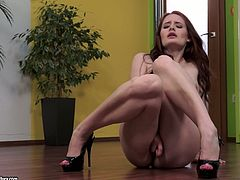 Amazing compilation with stunning redhead girls. In this video they shake their asses and toy their hot pussies. Some of them also get fucked.