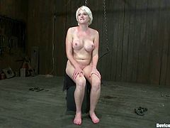 Devon Taylor is the girl getting toyed and tortured in this wild BDSM video packed with bondage and more kinky action.