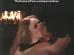 If you're into vintage porn, look no further! This hot scene of retro sex will make your mouth water! Watch as these two fuck hard on the floor till orgasm!