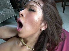 Flexible sexy and hot like hell Japanese nympho is a futuristic lover. Incredibly voracious for cum babe desires to get banged from behind. Kinky brunette moans while riding a dick, her boobs bounce and her hairy pussy gets finally polished properly.