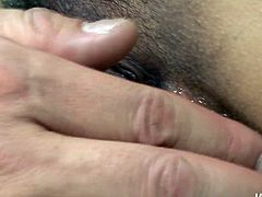 Fingerfuck is what perverted brunette from Japan loves the most. Appetizing chick is a bit plump and has small tits. But torrid nympho with hairy pussy will make you surely jizz. Just press play and enjoy Jav HD sex clip.