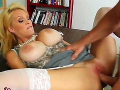 Charlee Chase gets the pussy fuck of her dreams with hot dude Johnny Castle