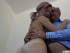 Juicy mommy with stout ass named Bibi blows that big old cock and gets her snapper fucked doggystyle. She rides that dick on top and gets her mouth pumped.