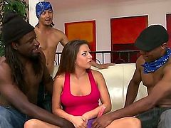 Charity Bangs loves getting her hole boned by hot guy