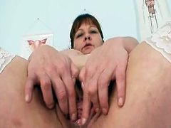 Aged Amateur Mom unbuttons her Nurse uniform to present off her huge true boobs. she Will likewise show you her fatty pussy and Toys insertion
