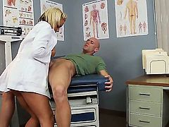 Johnny Sins uses his hard cock to bring Briana Blair with juicy breasts to the edge of nirvana