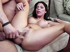 Mick Blue gets pleasure from fucking Aleksa Nicole with giant tits
