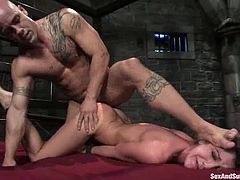 This busty and sassy siren gets fucked in this BDSM porn video through some unstandable pain! Anyway, honey does it and she does it with passion!