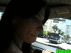 Big Titted Rebecca Linares Fucks a Random on the Hump Bus