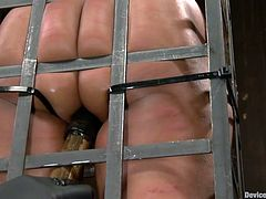 caged and sexually exploited