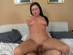 A tight brunette slut gets her virgin pussy fucking fucked in this hot-ass fuck picture. Check it out right here! It's glorious!