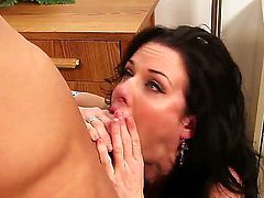 Bill Bailey pounds delicious Veronica Avluvs bush in every position