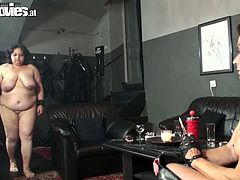 Lustful mature sluts are fucking dirty in hardcore orgy scene. They all are sucking a single dick one by one having hidden competition on who is the best sucker. Wicked porn clip brought to you by Fun Movies.