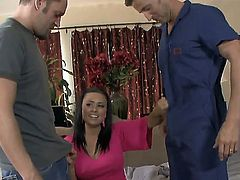 Eva Angelina has some time to give some pleasure to hard dicked bang buddy Alec Knight