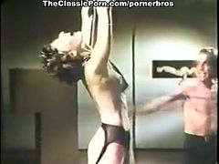 Courtesy of The Classic Porn you can see an alluring brunette belle getting tied up and whipped before her master pounds her clam into a breathtaking orgasm.