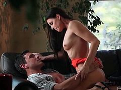 Erotically fucking India Summer from behind
