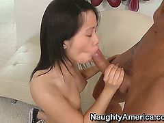 Marco Banderas makes Asia Zo scream and shout with his rock solid rod in her love box