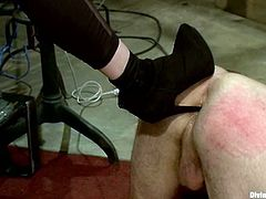 Ass fingering, pegging, crazy domination, foot fetish... there's everything in this femdom vid courtesy of Maitresse Madeline.