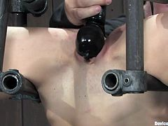 Check out this kinky bdsm scene with a horny-ass masochist bitch that loves giving herself up to the sadist fuck in the video.