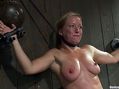 A couple of submissive sluts get put through a whole bunch of stuff in this kickass bondage scene right here, check it out!
