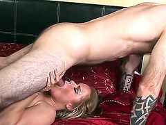 Superb hottie Nikki Delano loves riding and having her cunt nailed in such hardcore