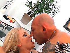 Lolli Moon and Milana get fucked really bad by horny Omar Galanti and he really fucks them good