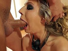 Chastity Lynn asks Mr. Pete to bang her sweet mouth