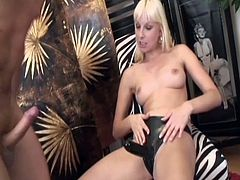 twink ass fucked by a blonde babe