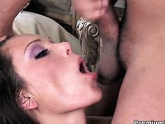 Anna Nova needs nothing but her mans hard boner in her mouth to be satisfied